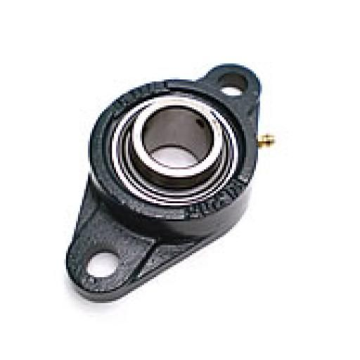 MSB UCFL207/SFT35 2 Bolt Bearing Unit