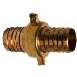 Brass Lugged Fitting - Swivel Hose Joiner - Hose ID 1/2""