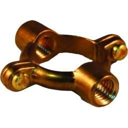 Greenaways« Double M10 Tappin Ring-Brass - Tube O.D (mm) 15