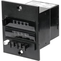 PNEUMATIC ADDING/PRESET COUNTER 5 DIGIT 2 LINE WITH RESET
