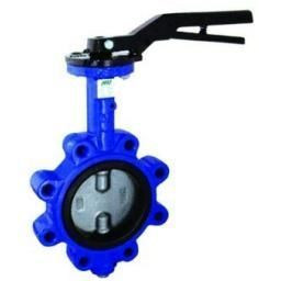 Lugged And Tapped Butterfly Valve - EPDM Liner - Size 2""