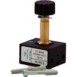 AZ Pneumatica« 3/2 Solenoid V lve on CNOMO-base - Thread Siz