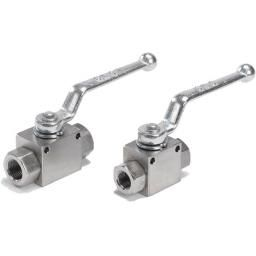 "ST/STEEL 2 WAY BALL VALVE FULL BORE 1/4"" BSPP"