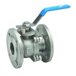 "Stainless Steel Ball Valve - F langed PN16 - Size 1/2"" x Weig"