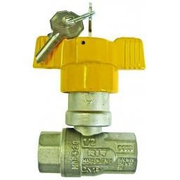 "1"" BSP T-handle GAS APP LOCKA BLE BUILDIN LOCKABLE DEVICE"