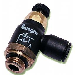 "6mm O/D X 1/8"" BSPP Com Exhaust(A) FC Regulator"