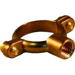 Greenaways« Single M10 Tappin Pipe Ring M10-Brass - Tube O.