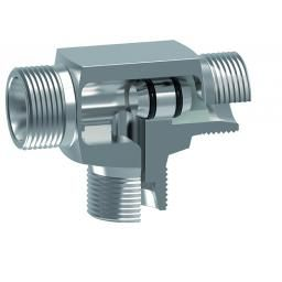 Soft Seat Shuttle Valve (L) Ser 12mm