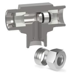 Complete - Soft Seat Shuttle Valve (S) Ser 6mm