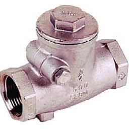 Stainless Steel Swing Check Valve - Size 1/2""