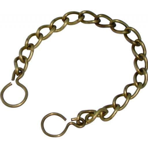 "6"" STAINLESS STEEL CHAIN & RING"