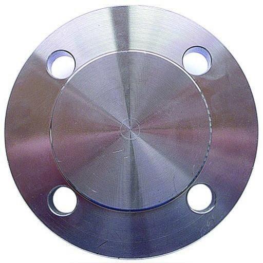 "1/2"" (15mm) Drilled and Raised face One side-316 SS - Blind"