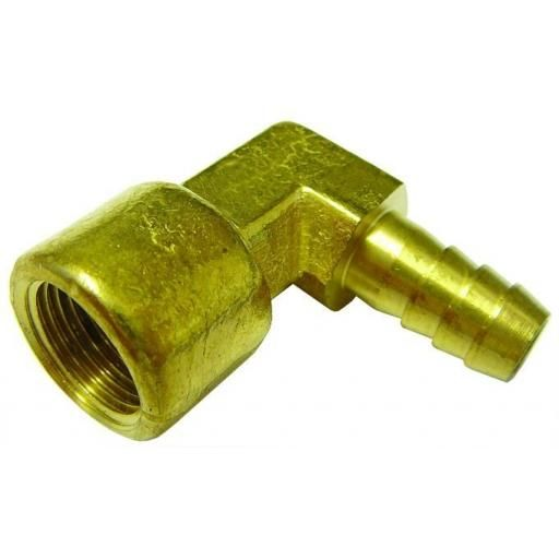 "1/4""BSPP X 5/16"" HOSE TAIL ELBOW"