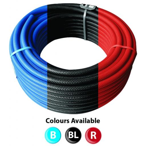 8mm I/D x 12.5mm O/D x30 Metre Multi Purpose Reinforced PVC