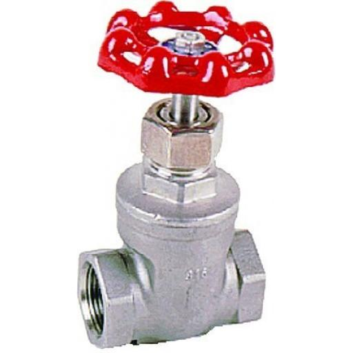Stainless Steel Gate Valve - Size 1/2""
