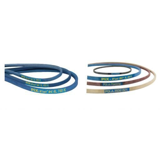 5L980 Blue Belt with Kevlar Cord DRY-5L980K